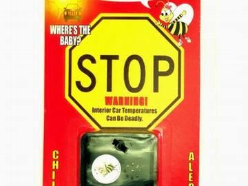 清算批发地: ***SALE***  Bee-Alert Hot Car Child Safety Alarm