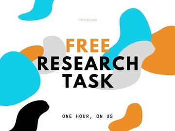 FREE First Task: Aidan - FREE Research Task