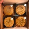 Selling: Mooncakes - with Salted Egg Yolks & Pumpkin Seeds