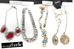 Liquidation/Wholesale Lot: 100 Pieces- Charming Charlie Necklaces Retail priced 24.99 -26.99