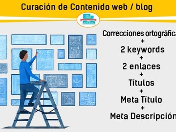 Servicio freelance: Curación de contenido, hasta 1000 palabras