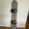 For Rent: Snowboard 157cm wide with L/LX bindings