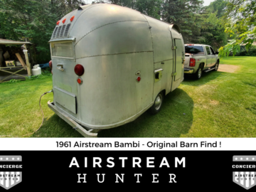 For Sale: SOLD: 1961 Airstream Bambi - Original Barn Find