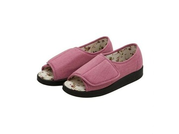 SALE: Women's Extra Wide Open Toed Shoes for Indoor & Outdoor
