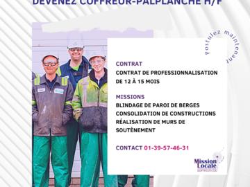 Offre: Recherche Coffreur-Paplanche