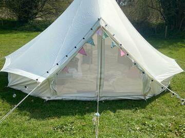 Renting out with online payment: Beautiful bell tents available 4meter, 5meter and 6meter tents*