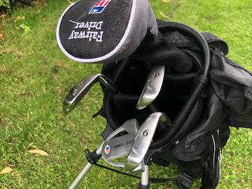 Vente: Kids left handed Golf Clubs