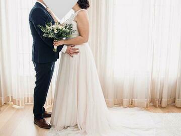 Ilmoitus: Morilee Luna Wedding Dress STYLE #6894