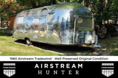 """For Sale: PRICE DROP: 1960 Airstream Tradewind - """"The Silver Sub"""""""
