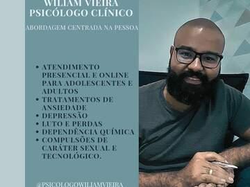 Consulta no consultório: Psicólogo Clínico