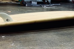 """For Rent: 8' 6"""" Pintail Longboard for Easy Rides"""