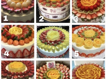 Selling: Birthday cakes