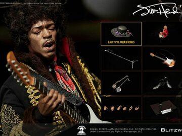 Stores: Figura 1/6 Jimi Hendrix 31 cm