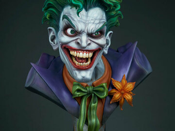 Stores: DC Comics: The Joker Life Sized Bust