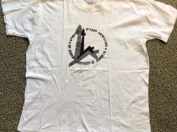 Selling A Singular Item: Hebrew University Shirt