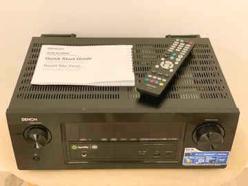 Selling without online payment: Denon AVR-X2100W Integrated Network AV Receiver