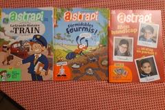 Vente avec paiement en ligne: 3 magazines ASTRAPI