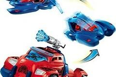Vente avec paiement en ligne: Voiture bateau avion Spiderman 3 en 1