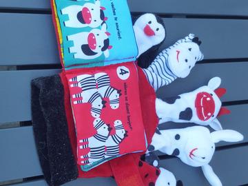 Vente: Gant marionettes pour apprendre les chiffres