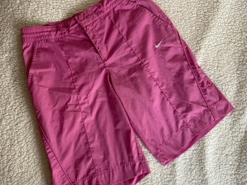 Selling with online payment: Pink Nike Shorts