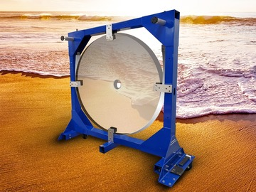 For sale (with online payment): Mounted Observatory Telescope Mirror
