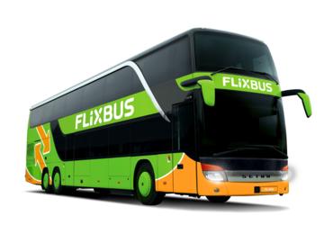 Vente: Bon d'achat FlixBus (56,99€)