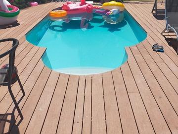 NOS JARDINS A LOUER: Jardin à louer piscine , pétanque, plancha