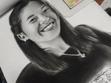 Offering with online payment: Charcoal Drawing