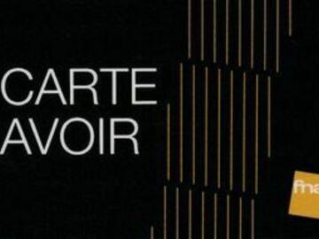 Vente: Carte avoir Fnac (49,99€)