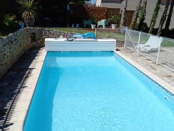 NOS JARDINS A LOUER: Jardin et piscine dans le Vexin