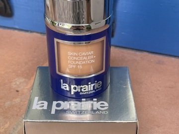 Venta: LA PRAIRIE SKIN CAVIAR CONCEALER +FOUNDATION SPF 15 HONEY BEIGE