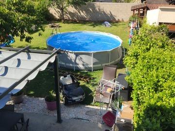 NOS JARDINS A LOUER: Agréable jardin/piscine tout équipé