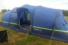 Renting out with online payment: 6 Man Berghaus Air Tent