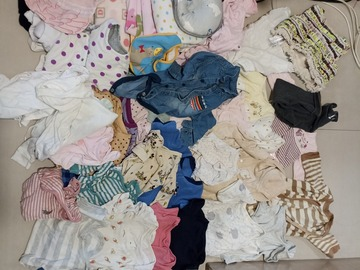 Selling without online payment: Baby clothes accessories and quilt from new born to 12 months