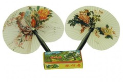 Sell: Lot of 480 Folding Oriental Fans ! Hot Sellers