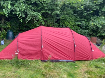 Renting out with online payment: Pro Action 4 person tent