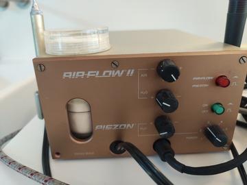 Gebruikte apparatuur: Piezon airflow.  Ems