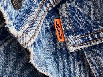 Myydään: Levis Orange Tab Denim Trucker Jacket Garrett Wash