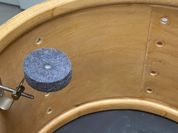 Selling with online payment: Slingerland 13x 9 blue agate tom