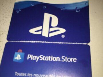 Vente: Carte PSN (50€)
