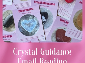 Selling: Crystal Guidance Reading - 3 Questions Email Reading