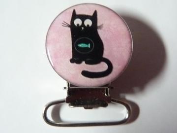 Vente au détail: Pince attache tétine chat - livraison gratuite
