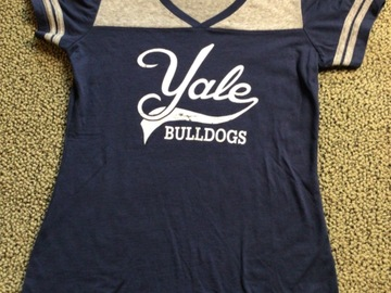Selling A Singular Item: Yale Bulldogs Shirt