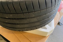 Selling: 22in ANRKY(AN30) Forged Wheels WITH TIRES