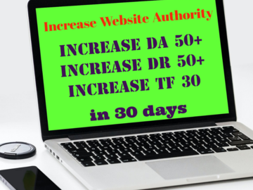 Fixed Price Service Offering : Increase Website Authority