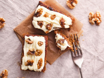 Delivery: Carrot Cake Dairy and Gluten Free x 2
