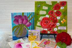Workshop Angebot (Termine): Fantasievolle Blumen