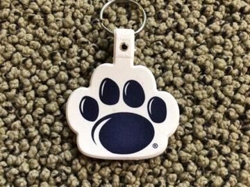 Selling A Singular Item: Penn State Paw Print Keychain