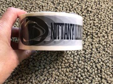 Selling A Singular Item: Penn State Packing Tape