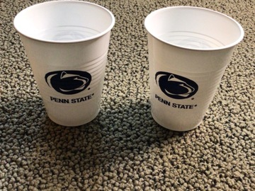 Selling A Singular Item: Two Penn State Cups